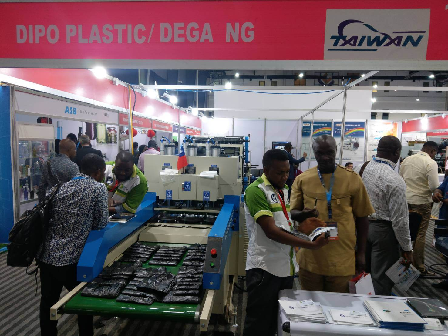 2019 PROPAK Nigeria Plastic Machinery Exhibition