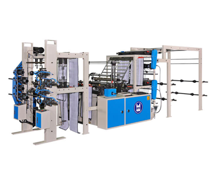 Automatic 4-Line Vegetable Bag Making Machine