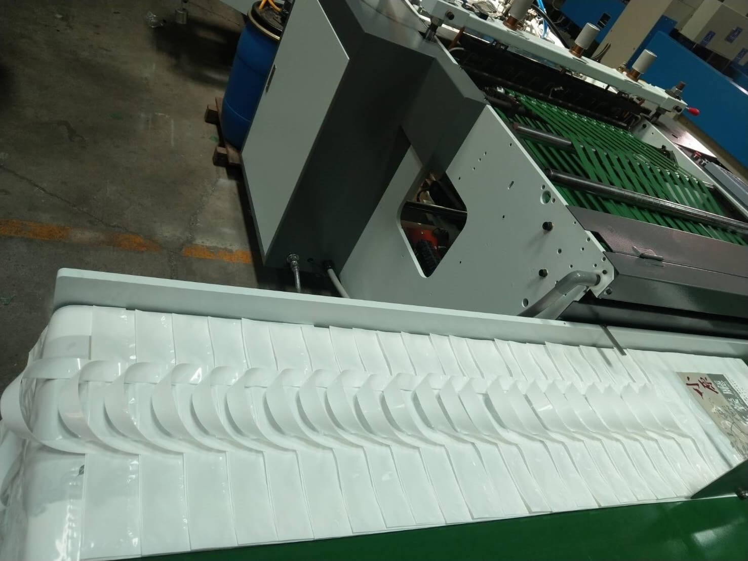 Appreciate Taiwan Customers Purchase DIPO Bag Making Machine again